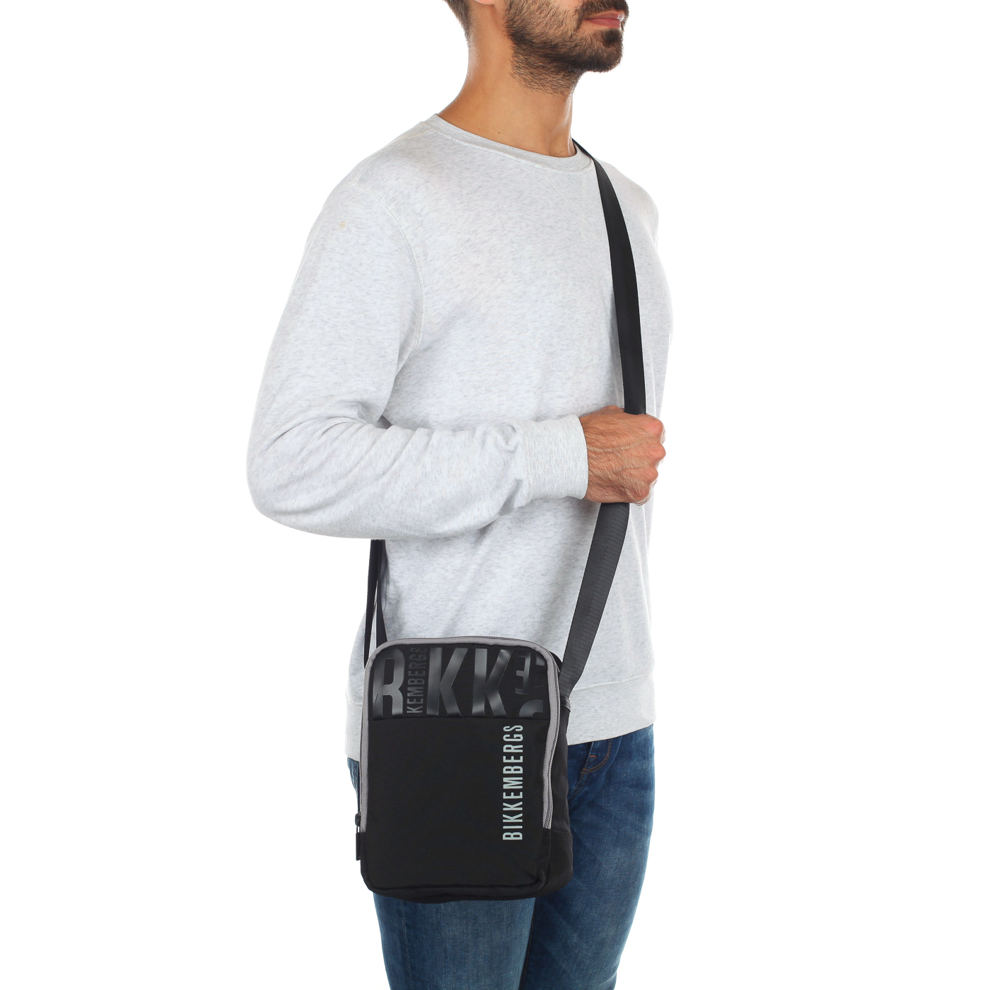 af037c8a36fe Мужская сумка через плечо Bikkembergs 6BDD4904_black - 2000557774551 ...